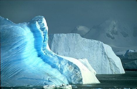 Surreal Scenery in Antarctica