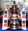 FA Cup trophy from the Archives